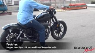 Bassani Xhaust Road Rage 2into1 For the Yamaha Bolt