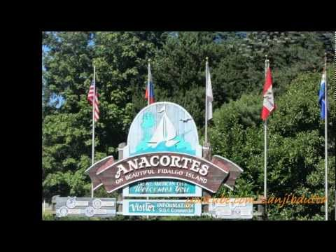 Historic Anacortes, Washington, USA