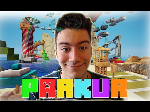 VALLAHA ÖLDÜRECEM HA!! - Minecraft Parkur - The Land of Parkour