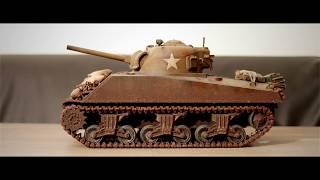 Sherman M4A3 RC Tank with Elmod