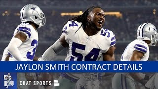Jaylon Smith Contract Details On Extension With Cowboys: It's A Team-Friendly Deal