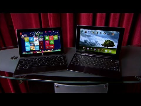 Prizefight - Microsoft Surface RT vs. Asus Transformer Pad Infinity