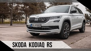 Skoda Kodiaq RS   2019   Test   Review   Fahrbericht   MotorWoche   MoWo