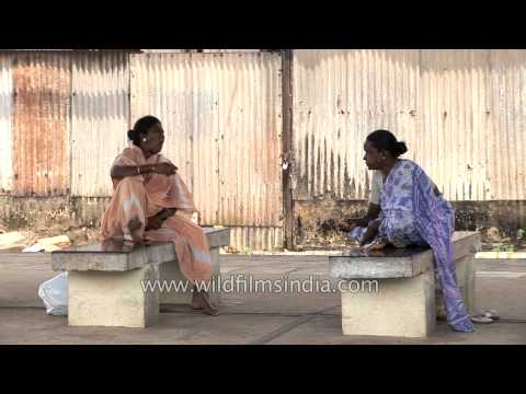 Chit chat session of south Indian women