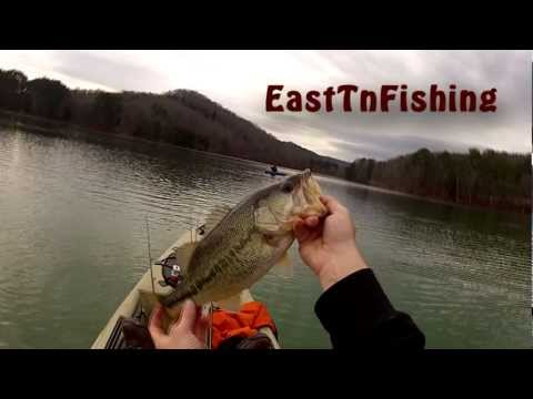 Alabama Rig- Kayak Bass Fishing- 5 lber- Part 1- Scott Heptinstall- GoPro HD