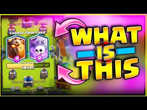 WHAT IS THIS NEW GAME MODE!? • CLASH ROYALE UPDATE!