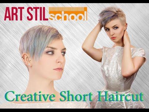 Creative Short Haircut