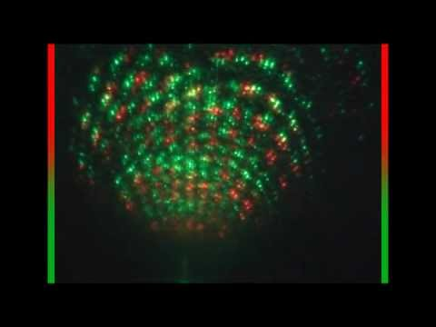 Mini Projector Holographic laser DJ Light REVIEW