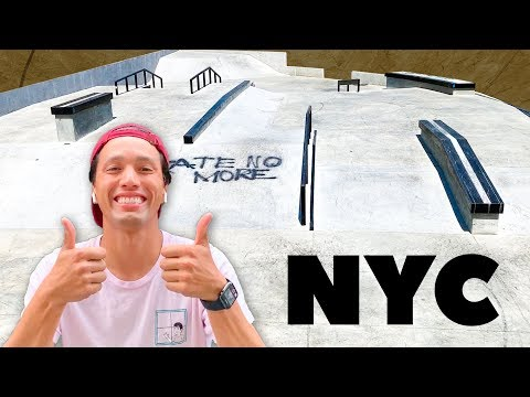 New York FINALLY Built a GREAT SKATEPARK!