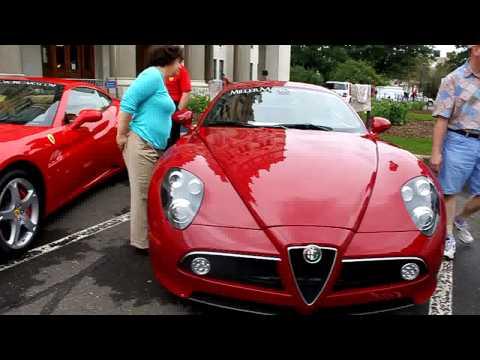 Alfa Romeo 8C competizione at Ferrari Concorso 09