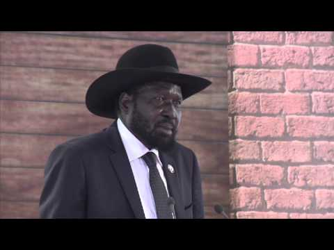 South Sudan President Salva Kiir Speech at Tana Forum 2014