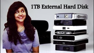 5 Best 1TB External Hard Disk in India