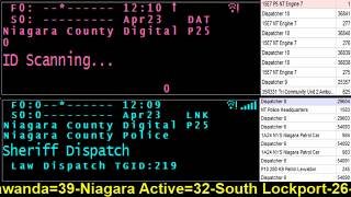 04/23/18 PM  Niagara County Fire Wire Live Police & Fire Scanner Stream