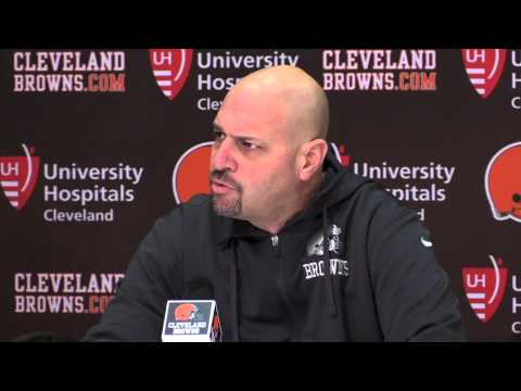 Browns' Mike Pettine on the decision to start Johnny Manziel vs. Bengals