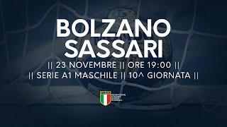 Serie A1M [10^]: Bolzano - Sassari 22-23