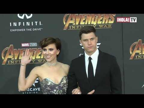 Scarlett Johansson confirma su noviazgo con Colin Jost | La Hora ¡HOLA!