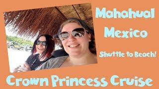 On a Mission! Thoroughly Exploring Costa Maya Cruise Port to get to the Beach 🌴 Princess Vlog [ep12]