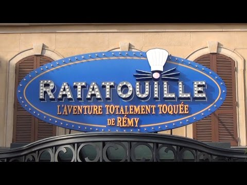 Ratatouille Adventure Full POV Ride Experience Disneyland Paris L'Aventure Totalement Toquée de Rémy