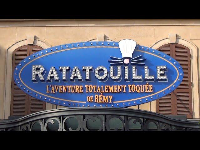 Ratatouille Adventure Full POV Ride Experience Disneyland Paris L'Aventure Totalement Toquée de Rémy