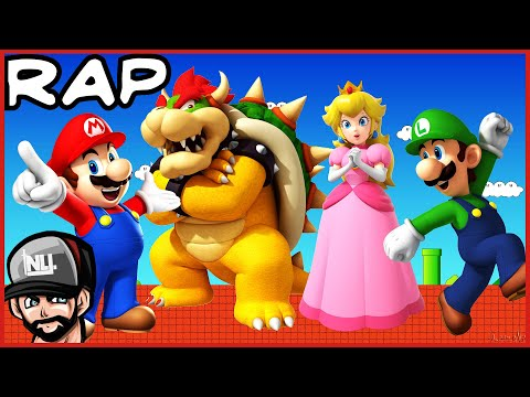 Awesome Super Mario Glitch-hop & Dubstep Rap! video