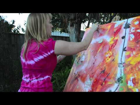 tips to be happy for single mothers with creative painting