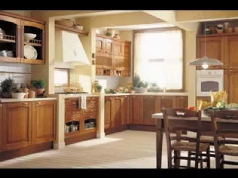 Simple Country Kitchen Design Decorating Ideas Youtube