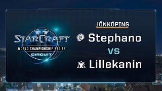 Stephano vs Lillekanin ZvT - Group A Stage 2 - WCS Jönköping 2017 - StarCraft II