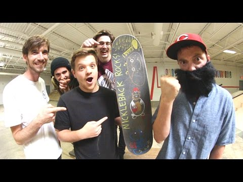 Ruin My Friend's Skateboard!? 2! / Warehouse Wednesday!