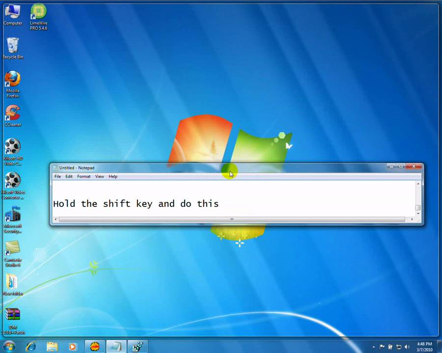 How To Slow Down Animations In Windows 7 Youtube