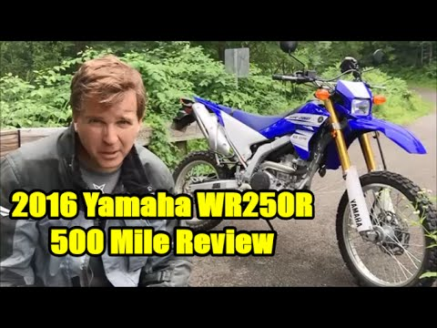 2016 Yamaha WR250R. 500 Mile Review and Thoughts