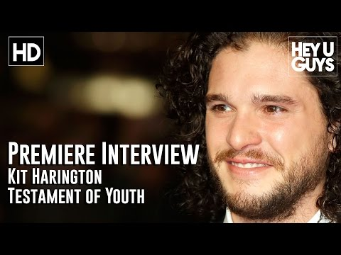 Kit Harington Interview - Testament of Youth LFF Premiere