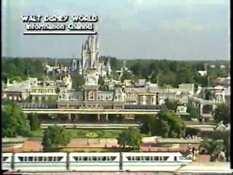 1987 Walt Disney World Information Channel (part 1 of 2)