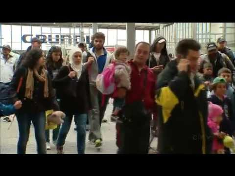 CTV News in Germany: Munich overwhelmed by refugees
