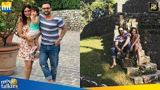 Kareena Kapoor And Saif Ali Khan Holiday With Son Taimur In Tuscany