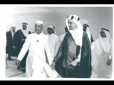First Prime Minister of India Pandit Jawaher Lal Nehru visited Saudi Arabia in 1955