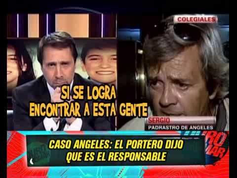 CASO ANGELES RAWSON  - EL PORTERO SE AUTOINCRIMINO 17-06-13