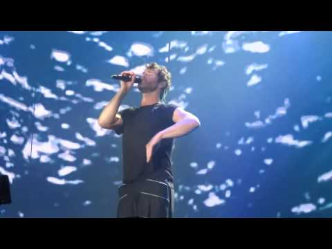 Take That - The Flood - 9-7-16 Hyde Park HD FRONT ROW