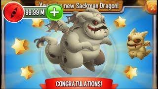 Dragon City - Sackman Dragon [Vampire Island   Completed 2017]
