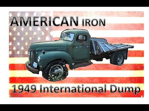 American Iron: Awesome 1949 International Dump FOR SALE!