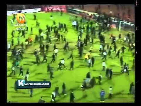 Egypt football soccer war field murder in Port Said