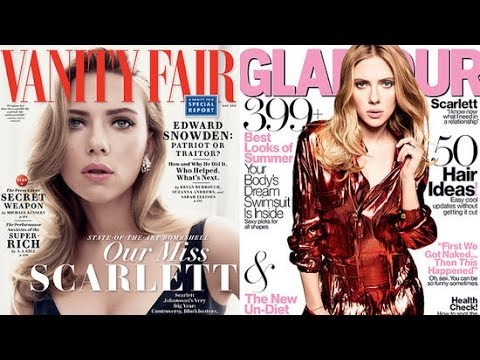 Scarlett Johansson on What She Learned From Divorce