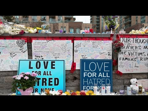 Vigil honouring victims of Toronto van attack