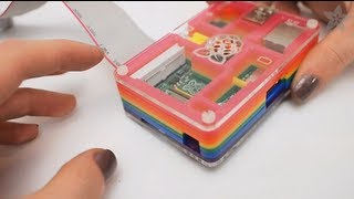 Pibow - Rainbow Raspberry Pi Enclosure
