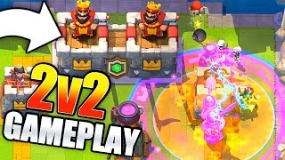 NICK & OJ vs PAT & MOLT! Clash Royale CLAN BATTLE UPDATE Gameplay!