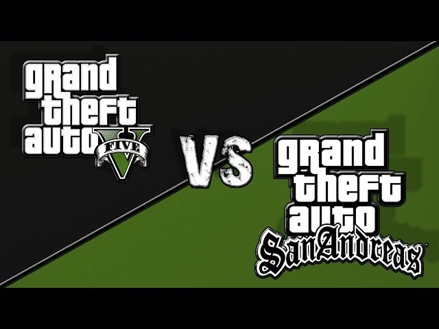 GTA V vs GTA San Andreas