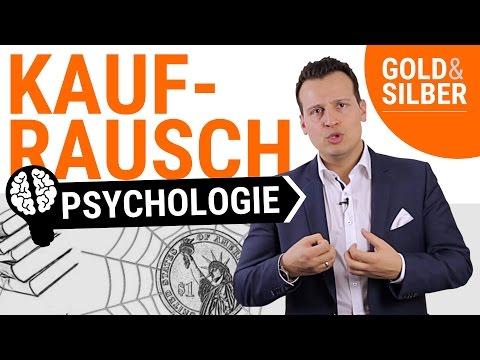 GOLD KAUFEN im KAUFRAUSCH & dabei sparen: Die Psychologie beim Gold- und Silber-Kauf