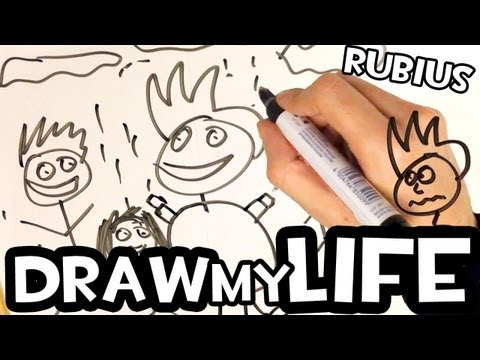 DRAW MY LIFE | by elrubius