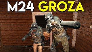 M24 + GROZA - PlayerUnknown's Battlegrounds (PUBG)