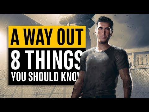 A Way Out | 8 Things You Need To Know (Josef Fares is my hero)