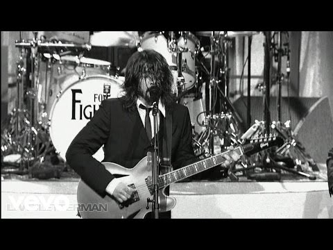 Foo Fighters - I Should Have Known (Live @ Letterman)